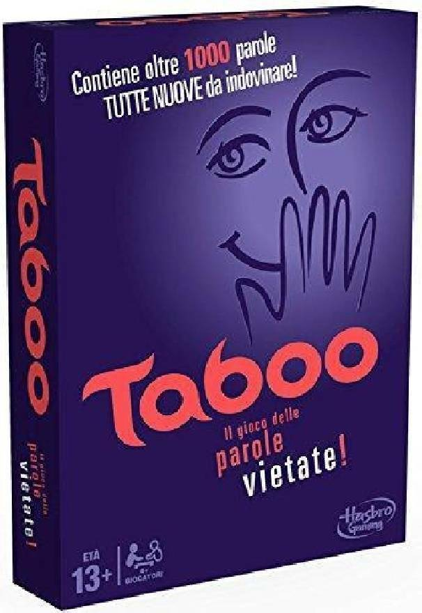hasbro - mb hasbro - mb taboo il gioco delle parole vietate