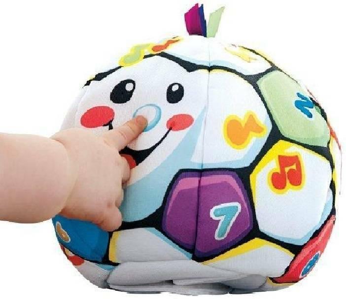 fisher price fisher price palla interattiva gioca e impara