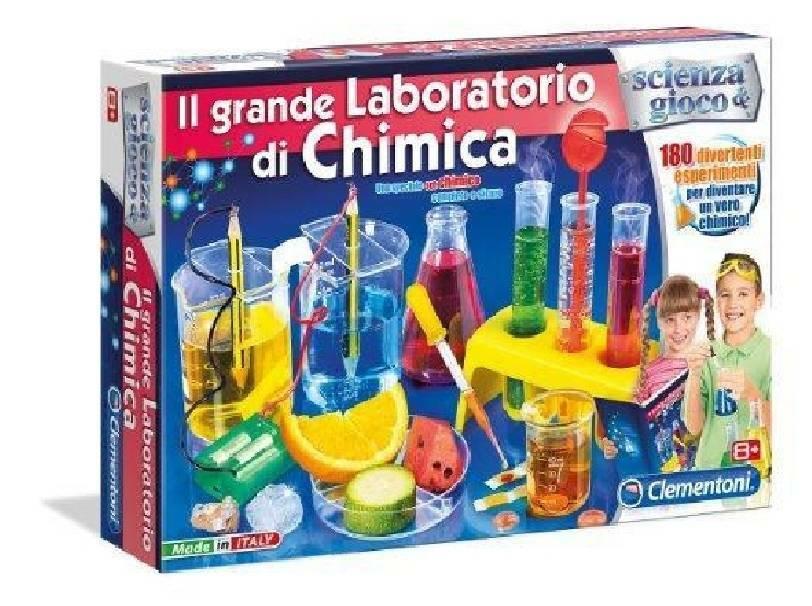 clementoni clementoni il grande laboratorio di chimica