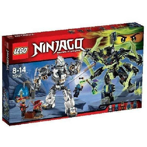 lego lego la battaglia dei robo titani ninjago