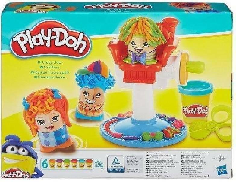 hasbro - mb hasbro - mb play doh ciuffi matti pasta da modellare