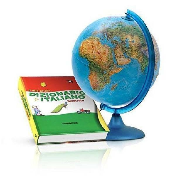 tecnodidattica tecnodidattica mappamondo orion con dizionario italiano