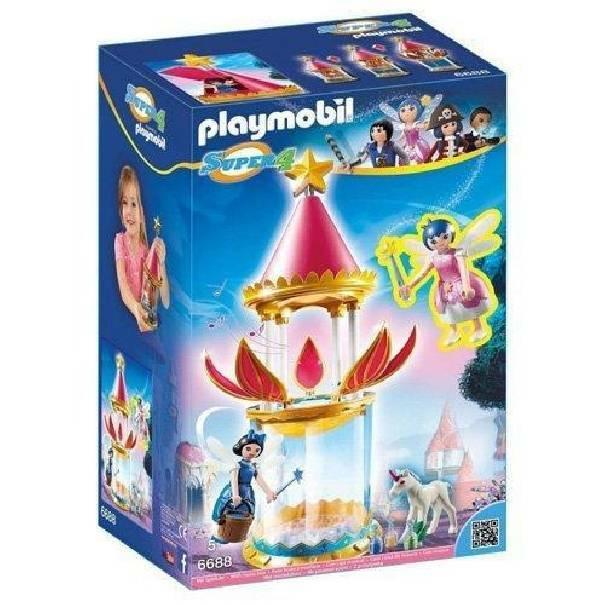 playmobil playmobil torre musicale con birilli e donella