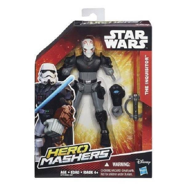 hasbro - mb hasbro - mb star wars hero mashers figures