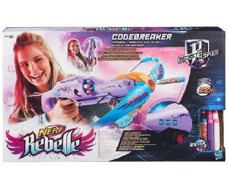 hasbro - mb hasbro - mb balestra neff rebelle codebreaker crossbow
