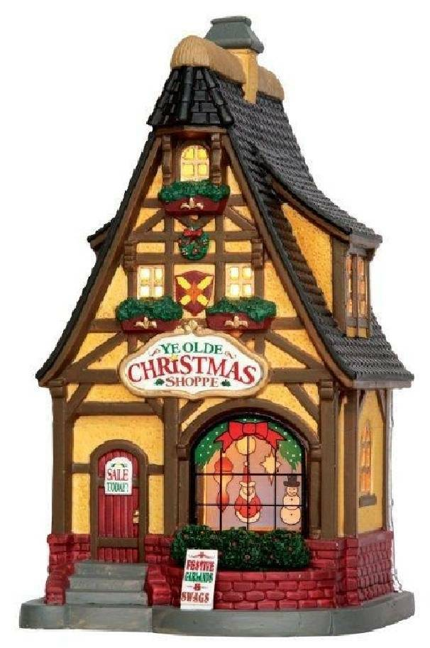 lemax lemax we olde christmas shoppe