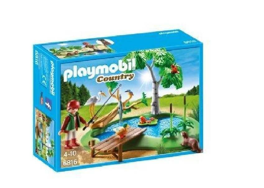 playmobil playmobil pesca di montagna