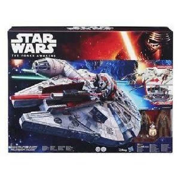 hasbro - mb hasbro - mb star wars millenium falcon veicolo