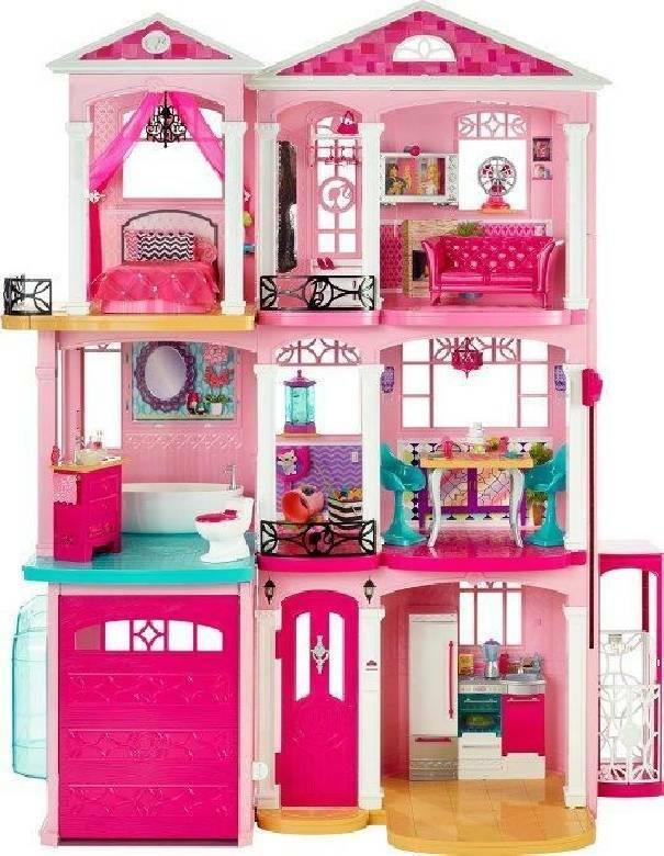 mattel mattel casa dei sogni di barbie