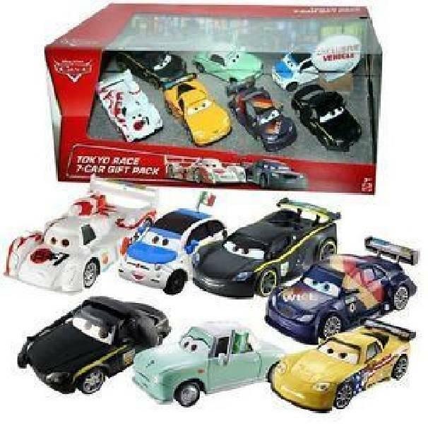 mattel mattel macchine cars 7 veicoli