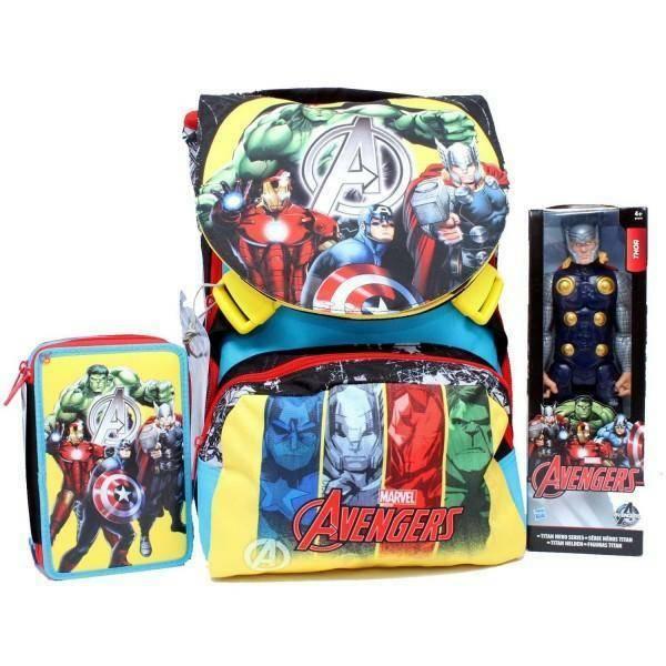 seven seven zaino school pack avengers assemble