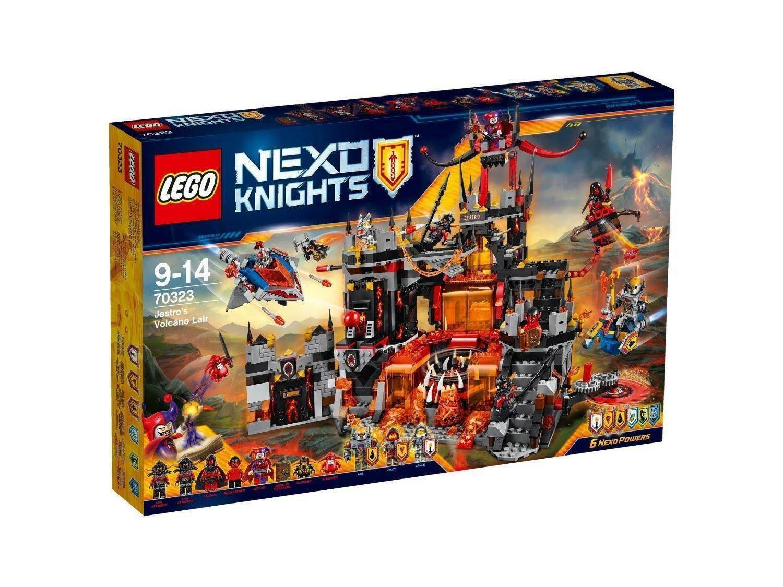 lego lego il palazzo vulcanico di jestro nexo knights 70323