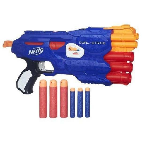 hasbro - mb hasbro - mb fucile nerf n-strike dual strike