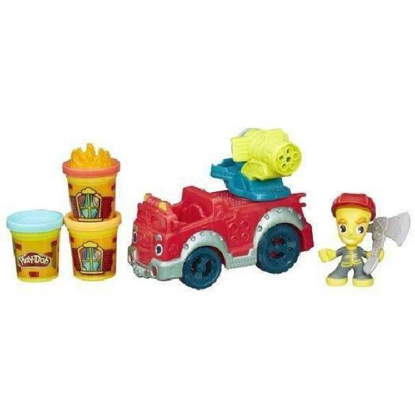 hasbro - mb hasbro - mb playdoh town camion pompieri