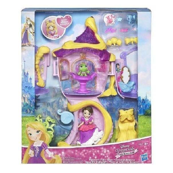 hasbro - mb hasbro - mb small doll torre di rapunzel