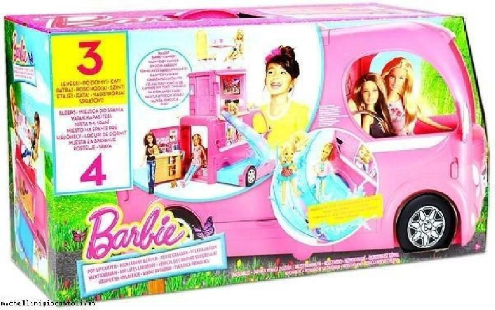mattel mattel camper barbie