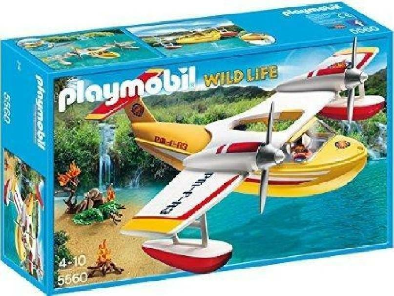 playmobil playmobil aereo idrovolante avventura di soccorso
