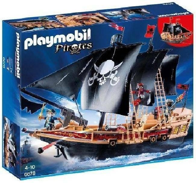 playmobil playmobil galeone dei pirati