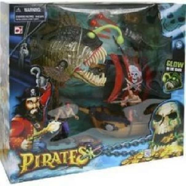 giocheria giocheria galeone pirate monster playset