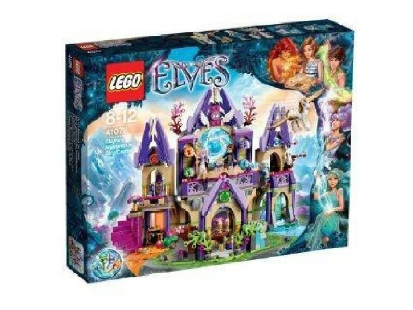 lego lego il misterioso castello delle nuvole di skyra