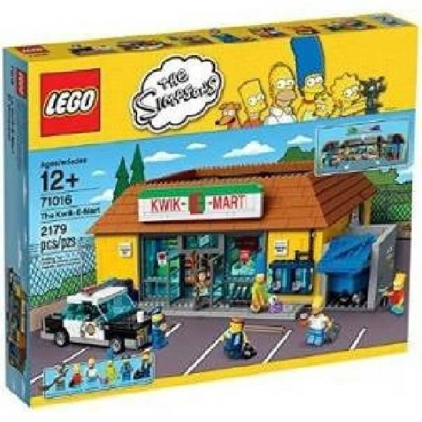 lego lego jet market supermercato simpson