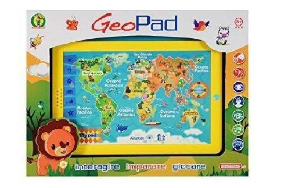 mazzeo mazzeo tablet interattivo geo pad
