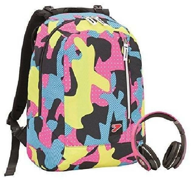 seven zaino reversibile seven colore camuflage