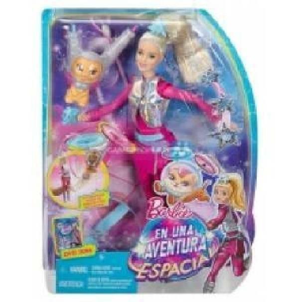 mattel mattel barbie avventura stellare