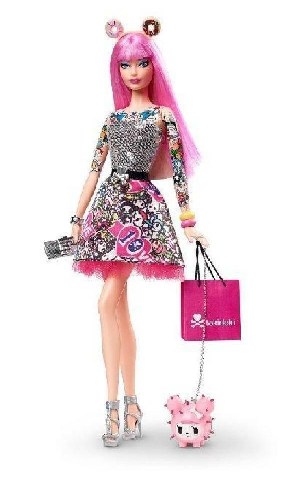 mattel mattel barbie tokidoki anniversary 10 anni
