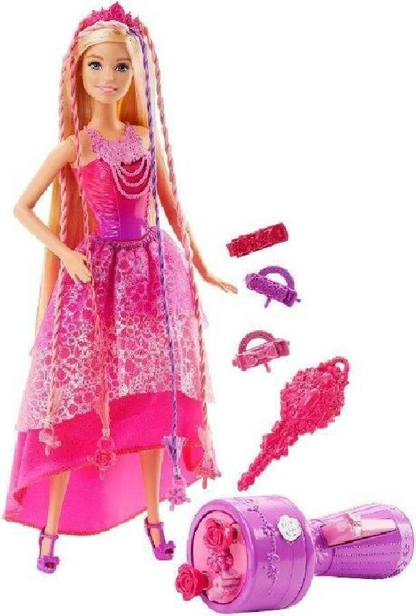 mattel mattel barbie chioma da favola