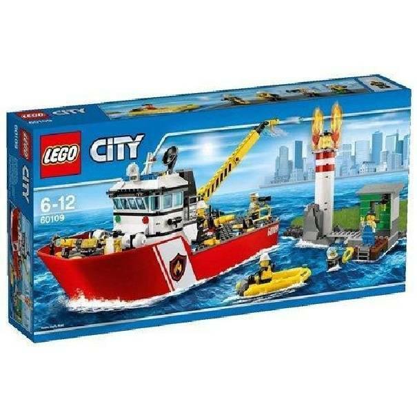 lego lego moto barca antincendio