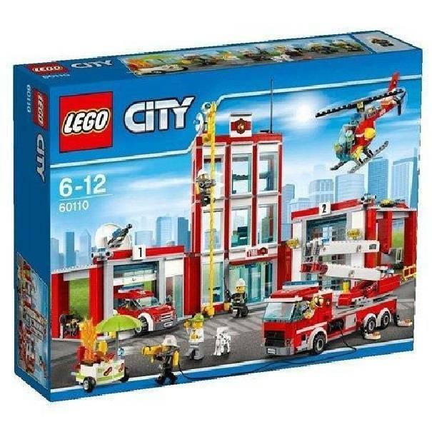 lego lego caserma dei pompieri 60110