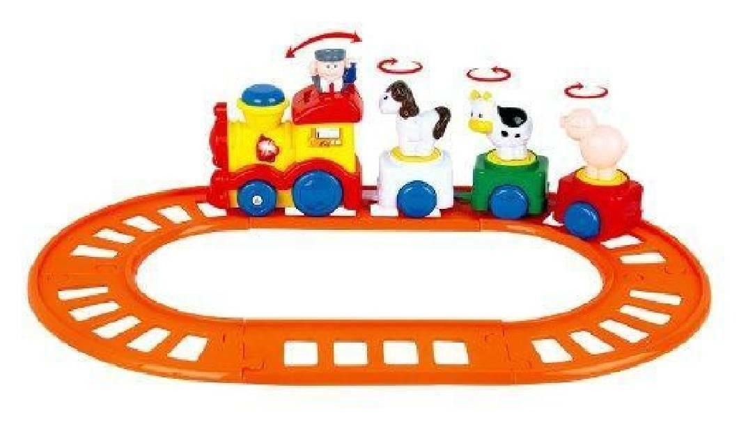 ronchi toys ronchi toys trenino fattoria b/o musicale