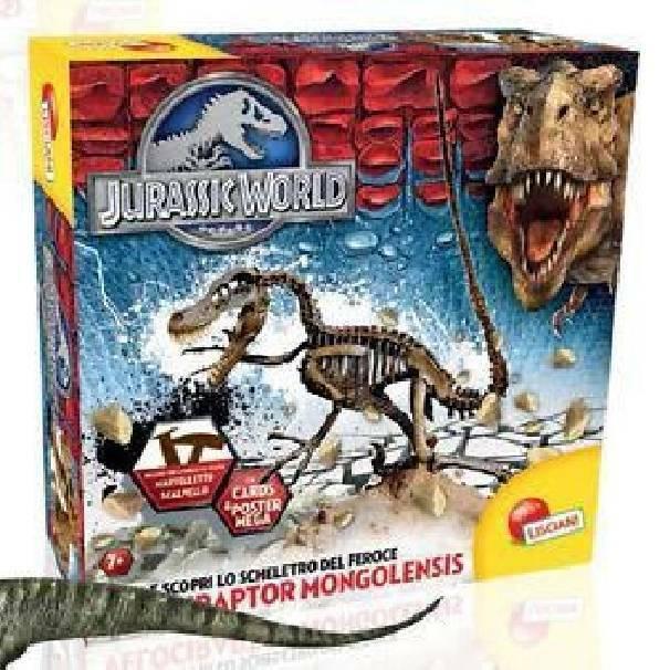 lisciani giochi lisciani giochi jurassic world super kit velociraptor