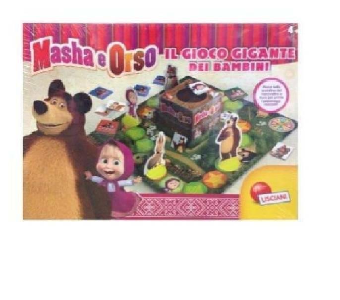 giocheria giocheria gioco gigante masha e orso