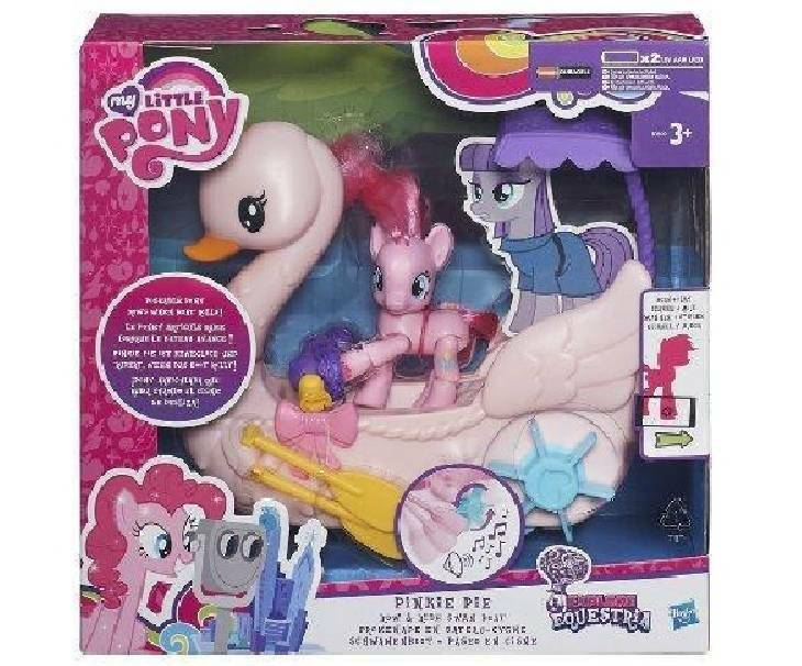 hasbro - mb hasbro - mb my little pony il cigno rosa