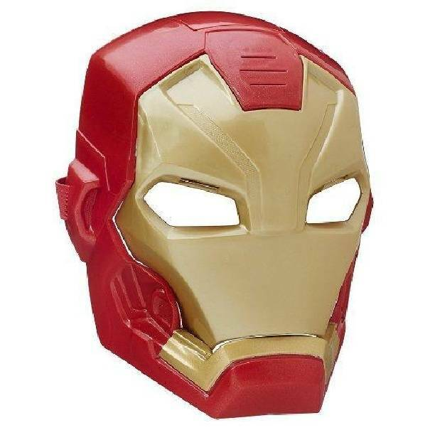 hasbro - mb hasbro - mb iron man maschera elettronica