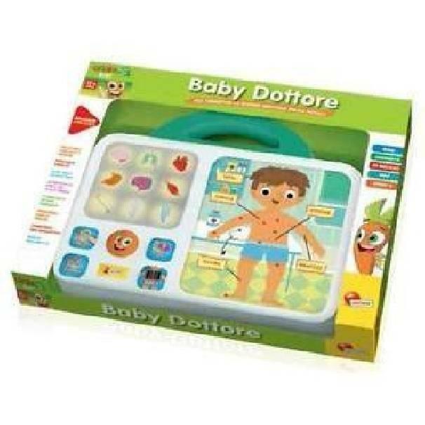 lisciani giochi lisciani giochi carotina baby dottore