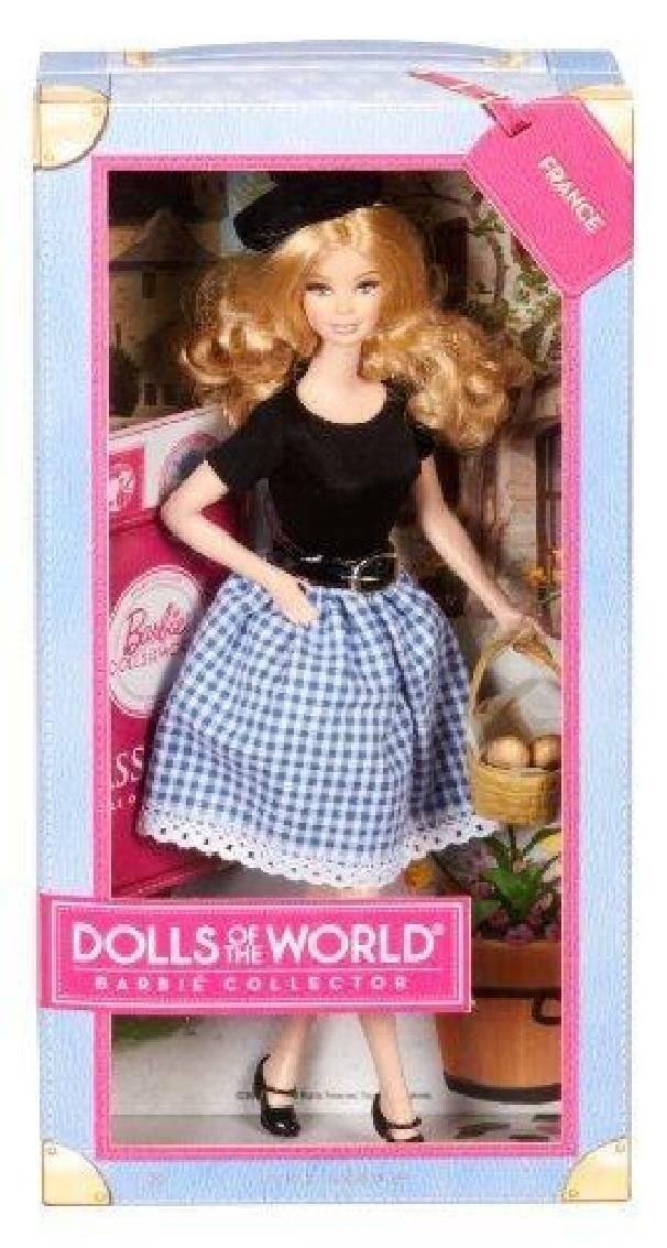 mattel mattel barbie parigina