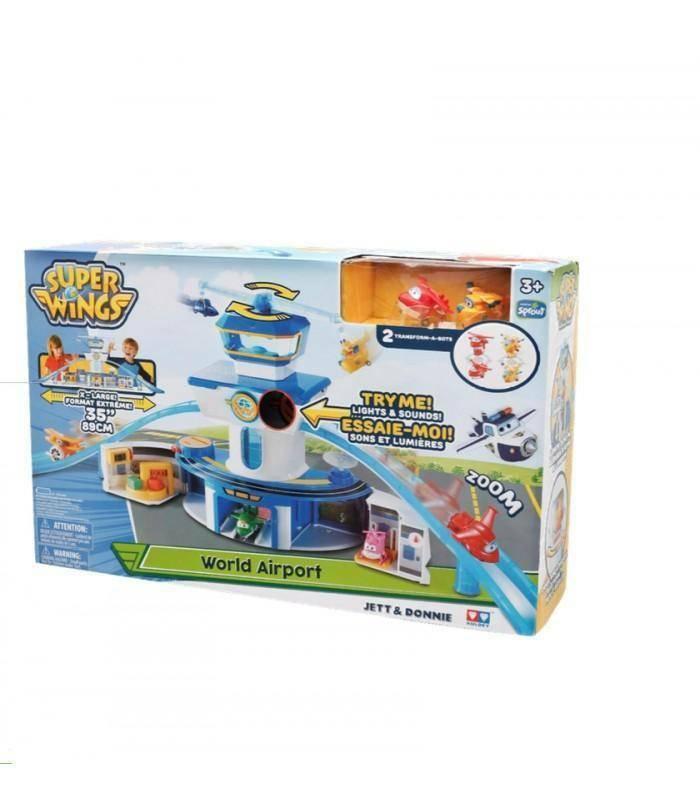 giochi preziosi giochi preziosi superwings torre di controllo playset