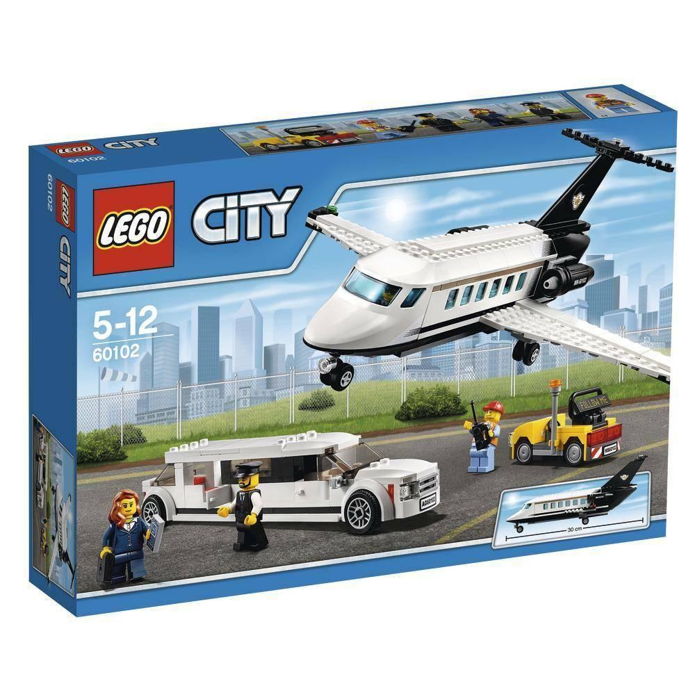 lego servizio vip aeroportuale lego city 60102