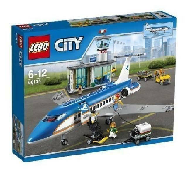 lego terminal passeggeri lego city 60104