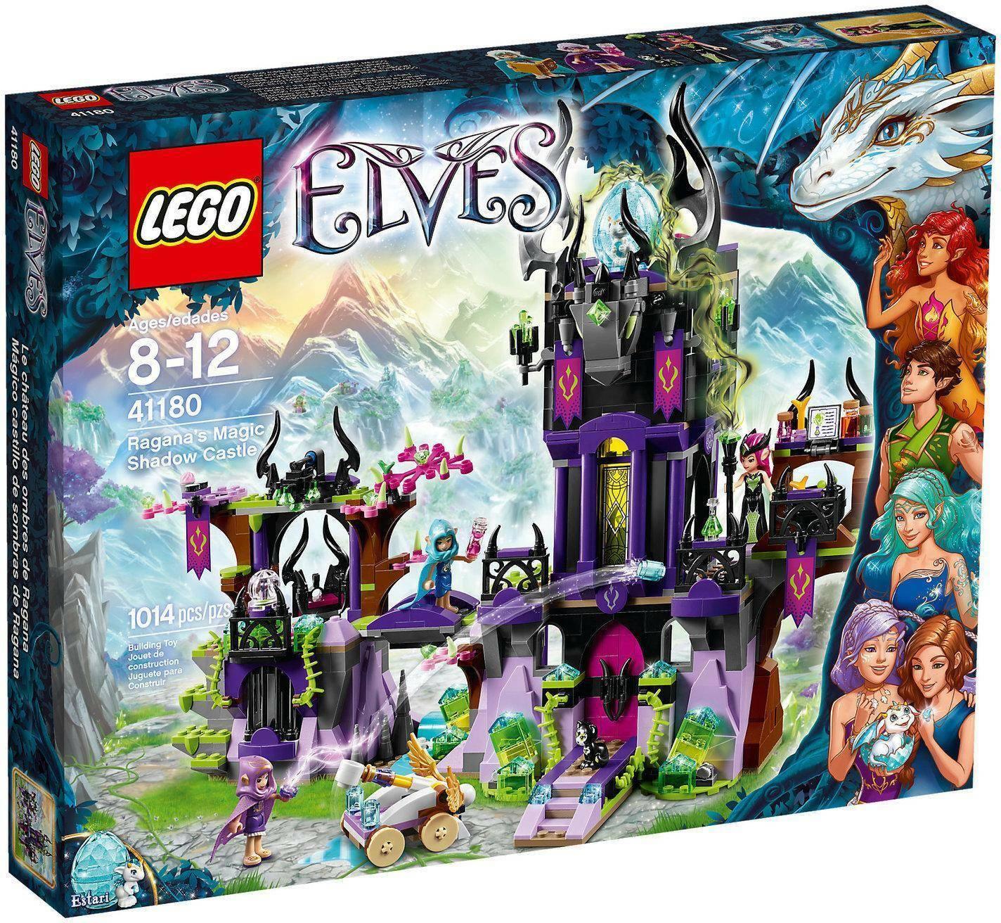 lego il castello delle ombre di ragana lego elves 41180