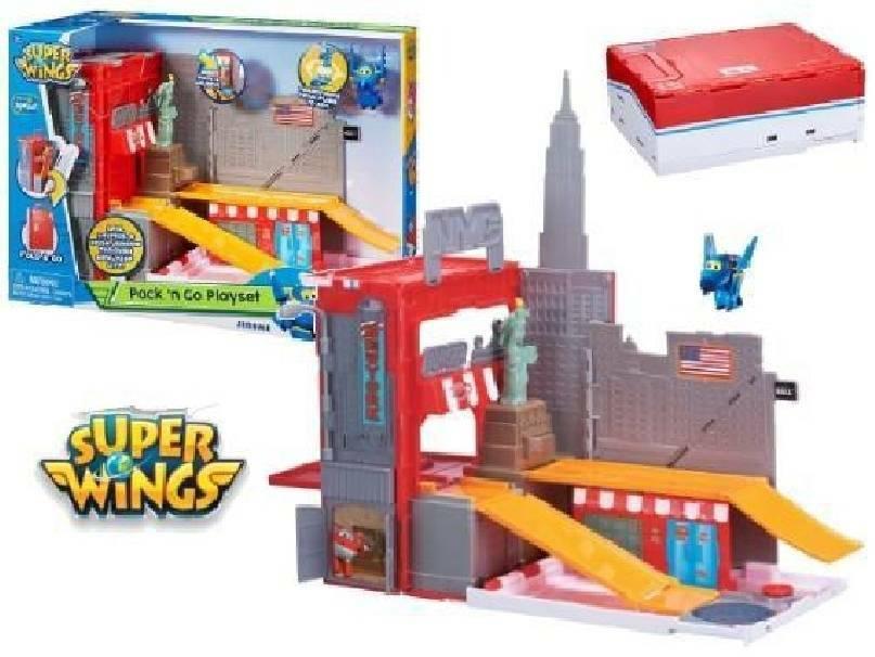 giochi preziosi giochi preziosi superwings playset pack & go
