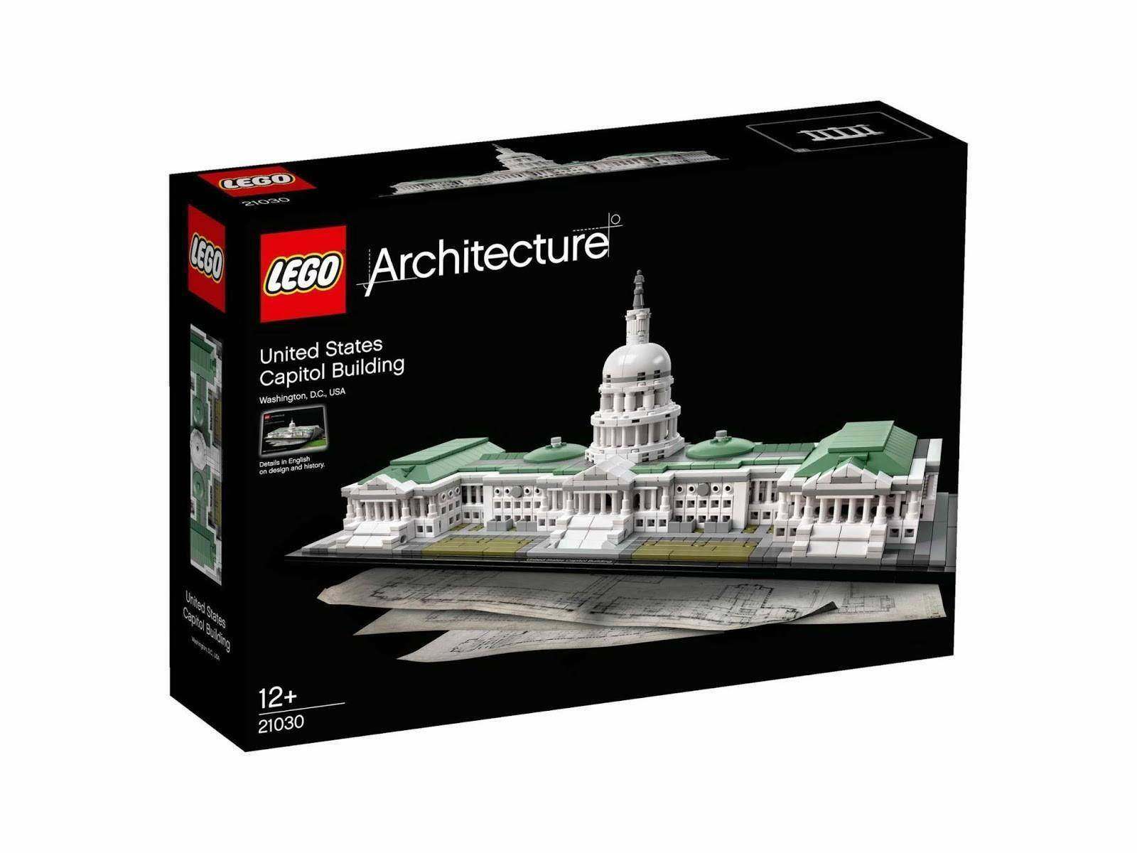lego campidoglio di washington lego architecture 21030