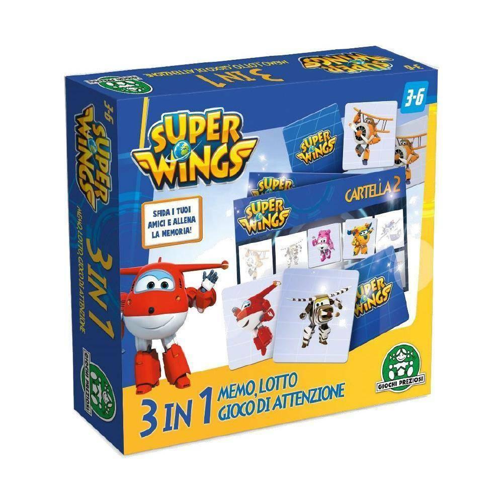 giochi preziosi giochi preziosi supermemo 3 in 1 superwings