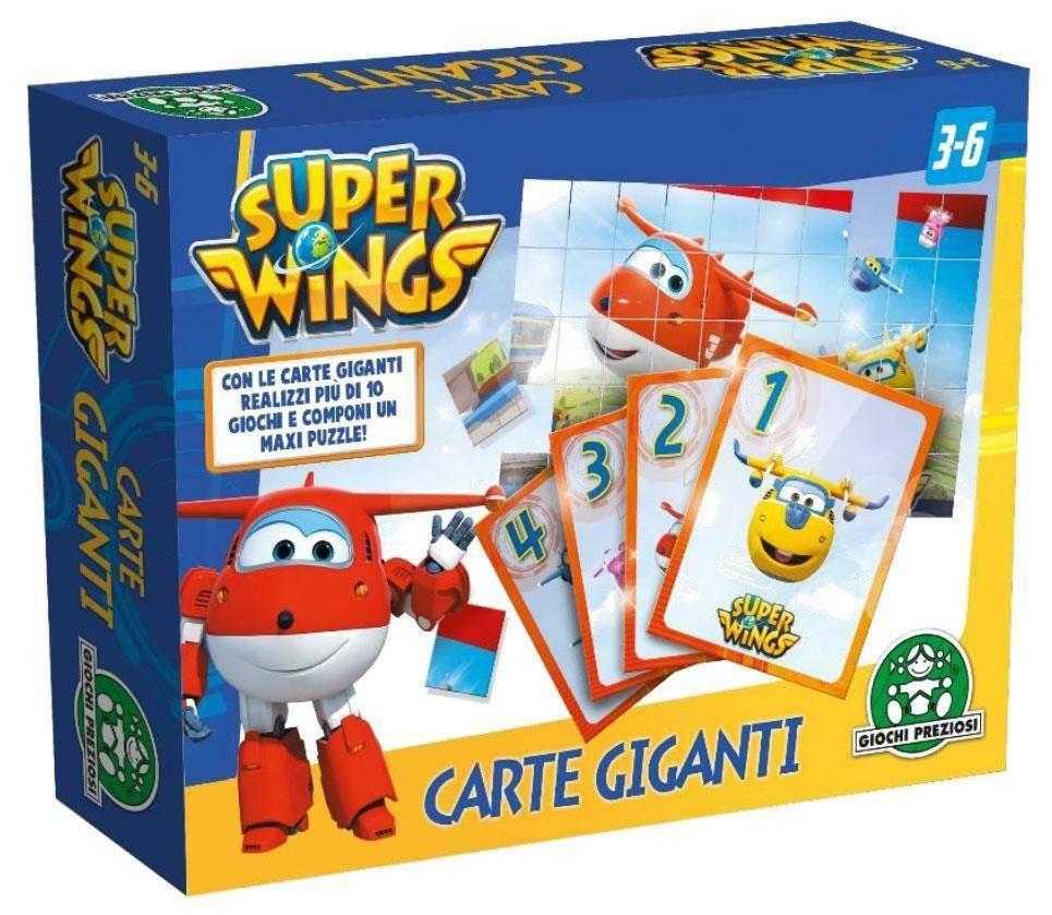 giochi preziosi giochi preziosi carte giganti double face superwings