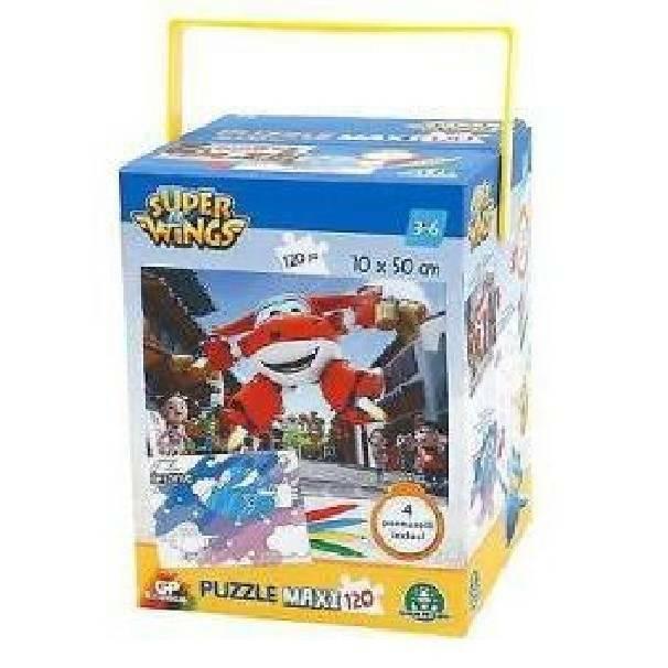 giochi preziosi giochi preziosi puzzle 120 pezzi superwings