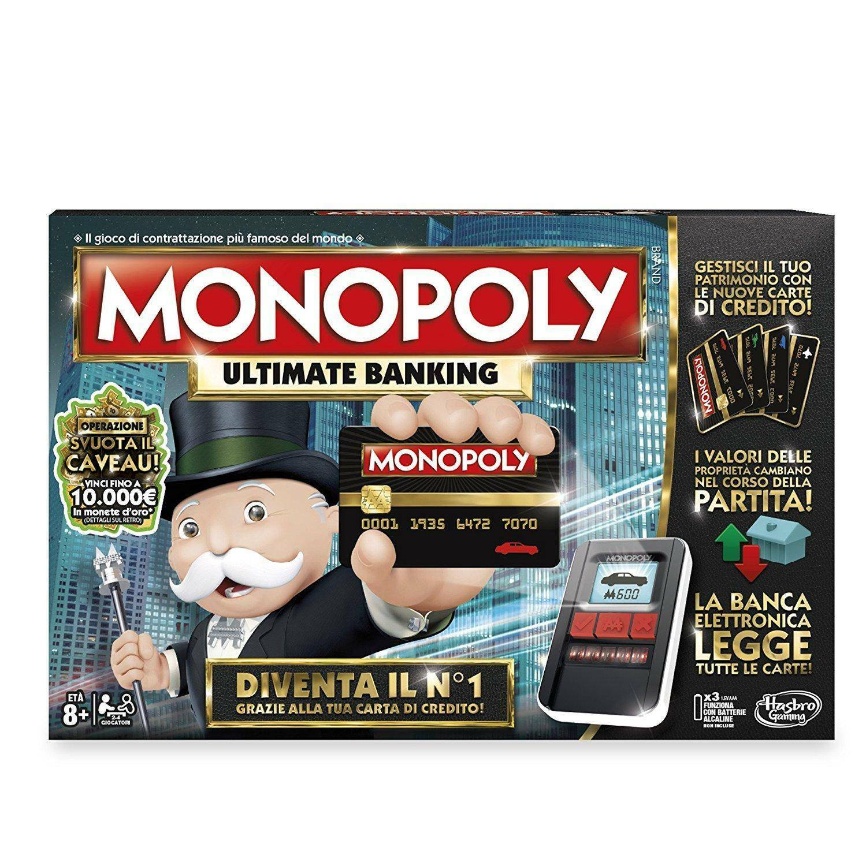 hasbro - mb hasbro - mb monopoly ultimate banking
