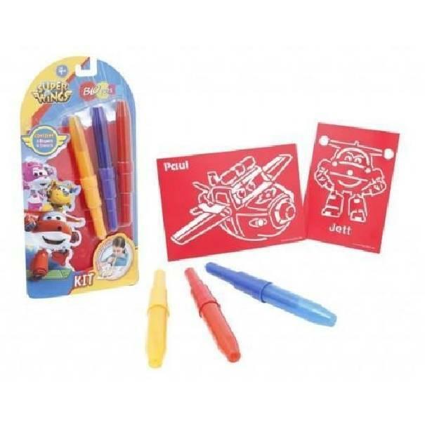 giochi preziosi giochi preziosi blopens kit 3 pezzi superwings